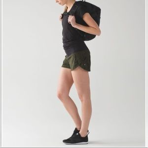 Lululemon Speed Short Mini Pencil Lace Brave Olive